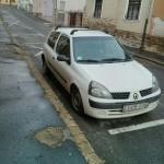 Renault Clio autóüveg fóliázás